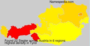 Surname Siegler in Austria