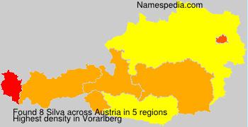 Familiennamen Silva - Austria