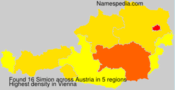 Surname Simion in Austria