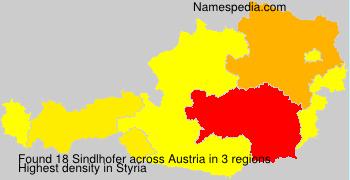 Surname Sindlhofer in Austria
