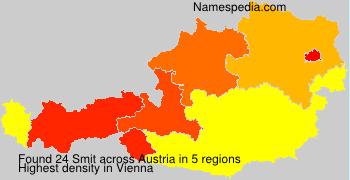 Surname Smit in Austria