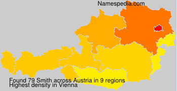 Surname Smith in Austria