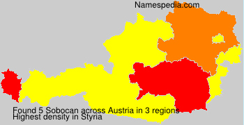 Surname Sobocan in Austria