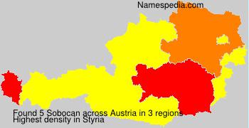 Surname Sobocan in Austria
