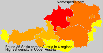Surname Sokic in Austria