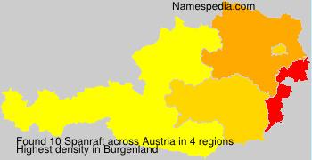 Surname Spanraft in Austria