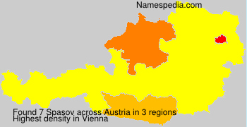 Surname Spasov in Austria