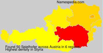 Surname Spielhofer in Austria