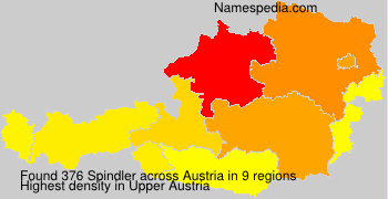 Surname Spindler in Austria