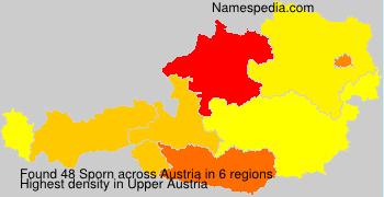 Surname Sporn in Austria