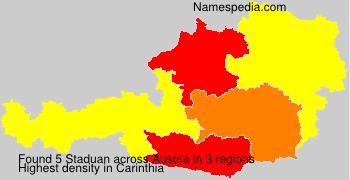 Surname Staduan in Austria