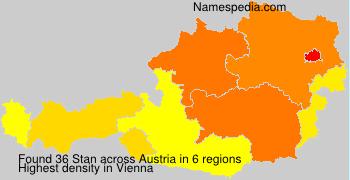 Surname Stan in Austria