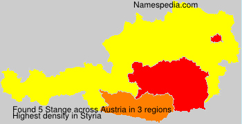 Surname Stange in Austria