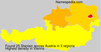 Surname Stanisic in Austria