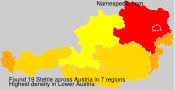 Surname Stehle in Austria