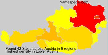 Surname Stella in Austria