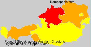 Surname Stepski in Austria