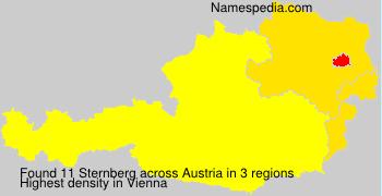 Familiennamen Sternberg - Austria