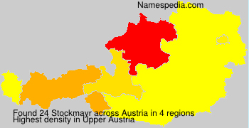 Surname Stockmayr in Austria