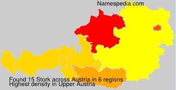 Surname Stork in Austria
