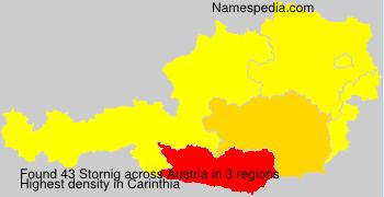 Surname Stornig in Austria