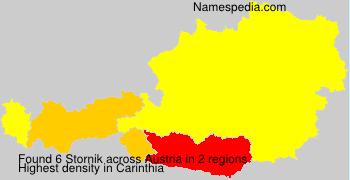 Familiennamen Stornik - Austria