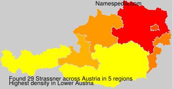 Familiennamen Strassner - Austria