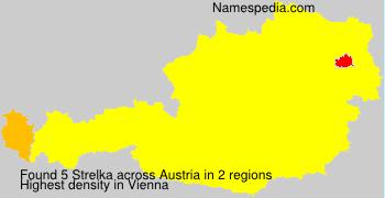 Familiennamen Strelka - Austria