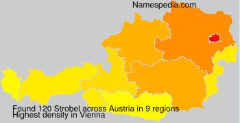 Surname Strobel in Austria