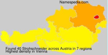 Surname Strohschneider in Austria