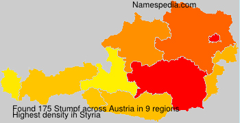 Surname Stumpf in Austria