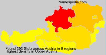 Surname Stutz in Austria