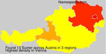 Surname Sumer in Austria