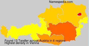 Surname Tandler in Austria