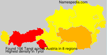 Surname Tangl in Austria