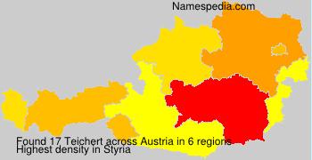 Surname Teichert in Austria