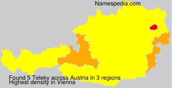 Surname Teleky in Austria