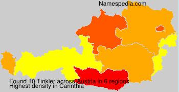Familiennamen Tinkler - Austria
