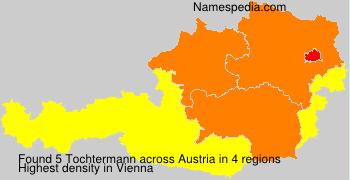 Surname Tochtermann in Austria