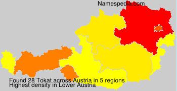 Familiennamen Tokat - Austria