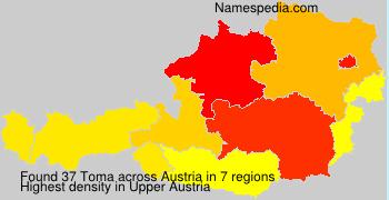 Surname Toma in Austria