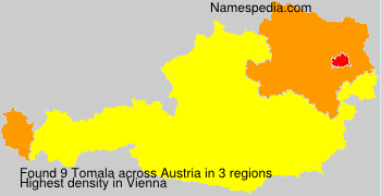 Surname Tomala in Austria