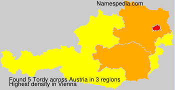 Surname Tordy in Austria