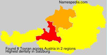 Surname Toyran in Austria