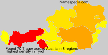 Surname Trager in Austria