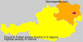Surname Traher in Austria