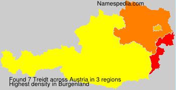 Surname Treidt in Austria