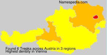 Surname Trepka in Austria
