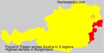 Familiennamen Tripam - Austria