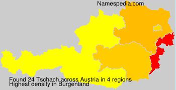 Surname Tschach in Austria
